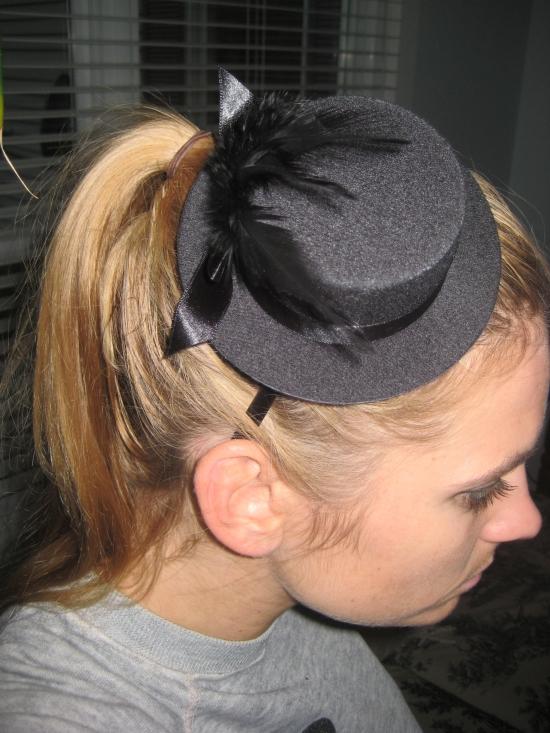 Tophat headband
