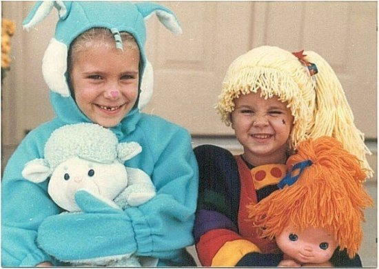Throwback Halloween costumes